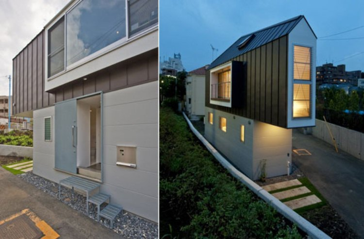 Located in Tokyo, Japan, this small home by Mizuishi Architect Atelier