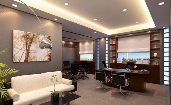 Kumpulan Design Pencahayaan Untuk Ruang Kerja Ceo