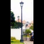 Tiang Lampu Taman Antik - Type Mahardika