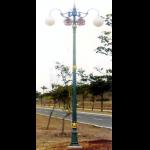 Jual Tiang Lampu Jalan Antik - Di Jakarta Type Raflesia Cabang 2