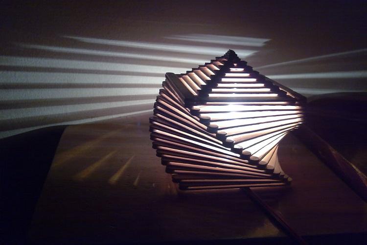 Jenis Lampu Hias Kayu Unik