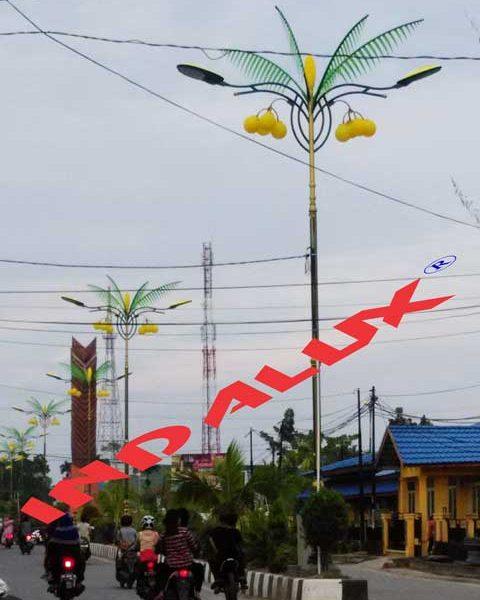 Jual Tiang Lampu Type Pohon Kelapa