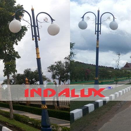 Jual Tiang Lampu Taman Kota Type Bina Praja