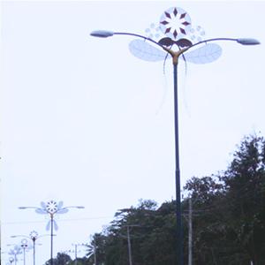 Jual Tiang Lampu Jalan Antik Bunga Simpor Cabang 2