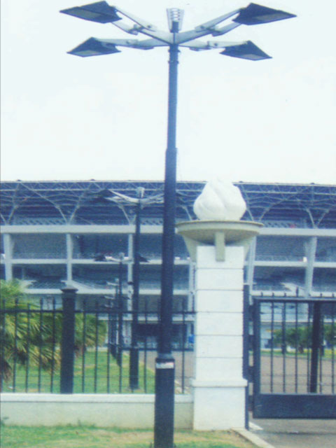 merupakan salah satu pabrik tiang yang terbaik di indonesia dan mengkedepankan kualitas di tiap produknya.type Gelora Or. 4 ini merupakan tiang yang memiliki design khusus, awet /tahan lama karena menggunakan material pilihan. Lokasi Pemasangan di : Area Komplek Gelora Bung Karno – Jakarta